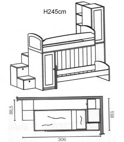 soppalco scandola mobili