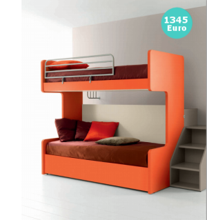 Beautiful Letto A Castello Scorrevole Contemporary - Home Design ...